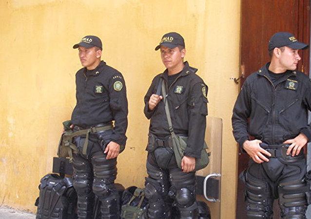 哥倫比亞警方