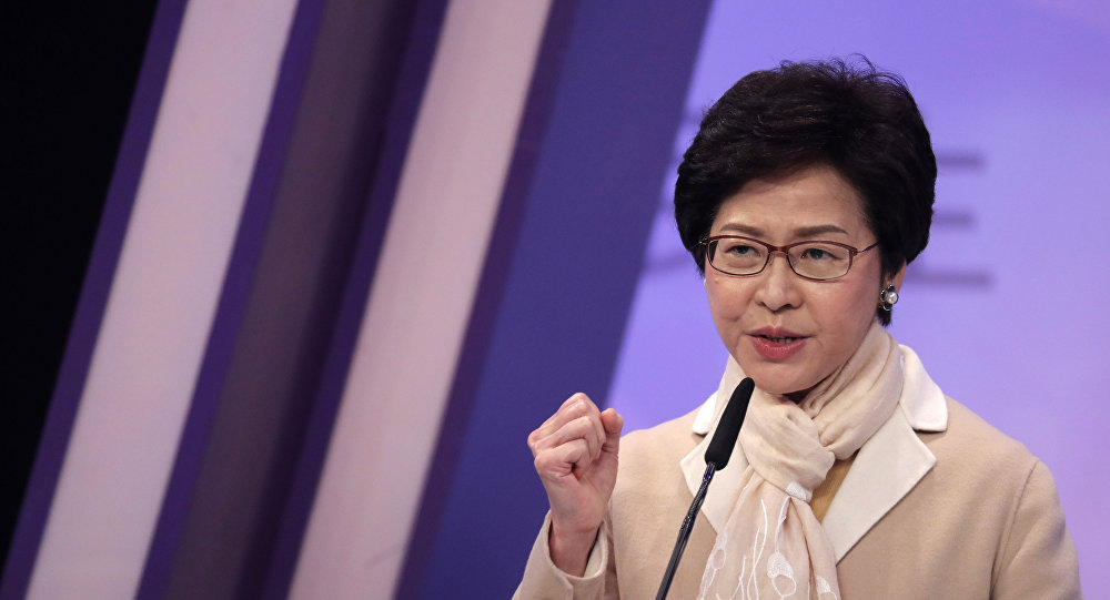 香港特首:《逃犯條例》法案已壽終正寢