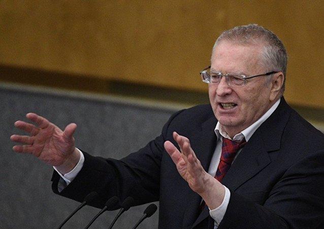 俄羅斯自由民主黨領導人日里諾夫斯基