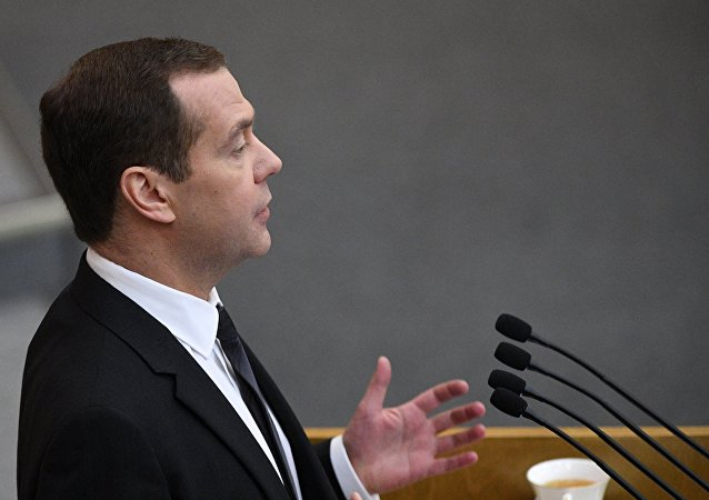 俄羅斯總理德米特里∙梅德韋傑夫