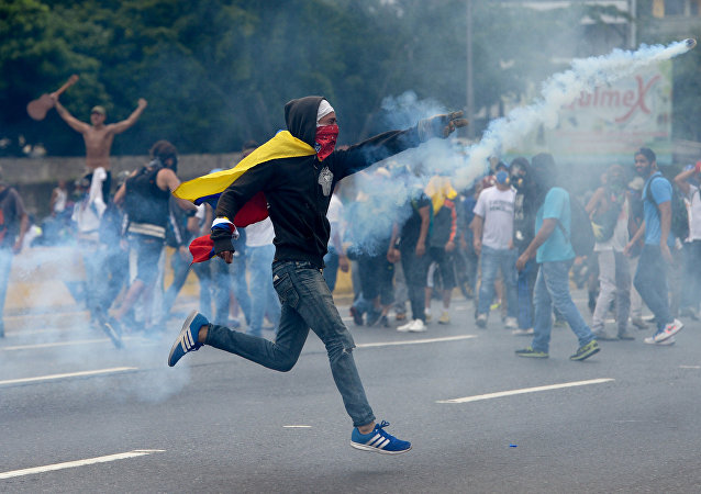 委內瑞拉示威