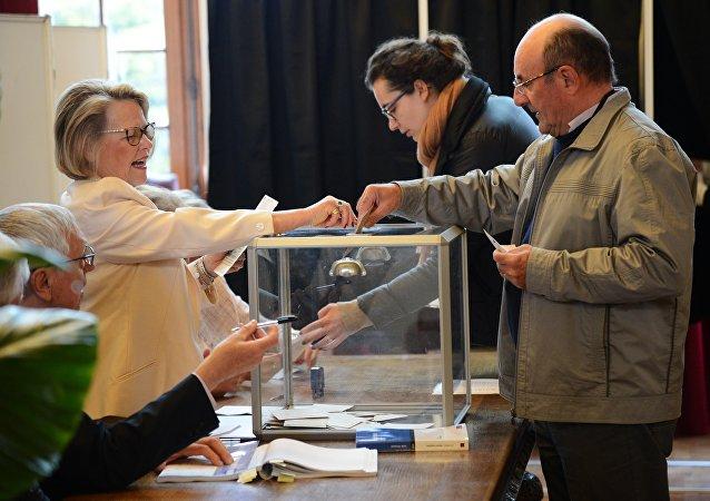 法國議會選舉的投票率依然很低 當前投票率僅為17.75%