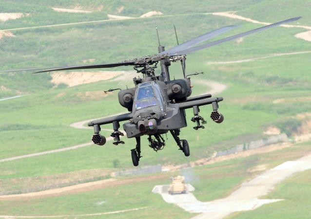 AH-64E阿帕奇直升機