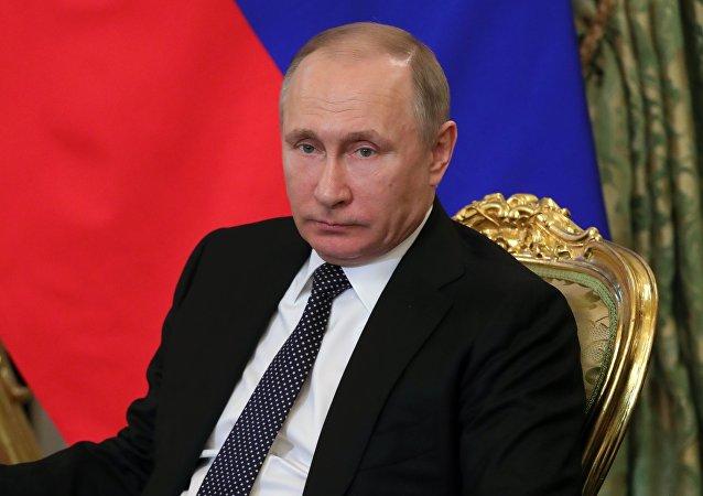 普京:加大反恐力度應是對倫敦恐襲的反應