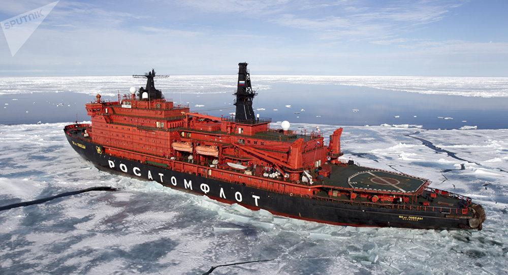 美俄共制定船泊航線應對北極航運增加