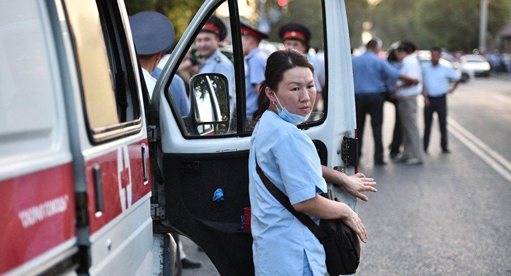 緊急情況部:吉爾吉斯斯坦南部發生山體滑坡,住宅被掩埋
