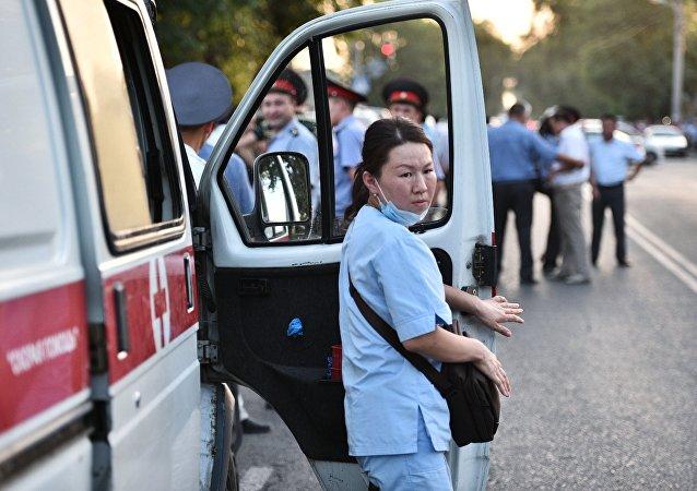 吉爾吉斯斯坦急救車