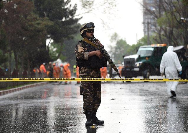 阿富汗警方(資料圖片)