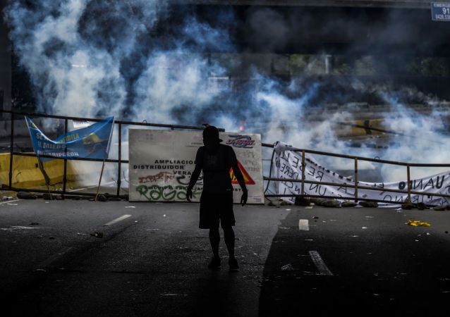 反對總統馬杜羅政策的抗議活動