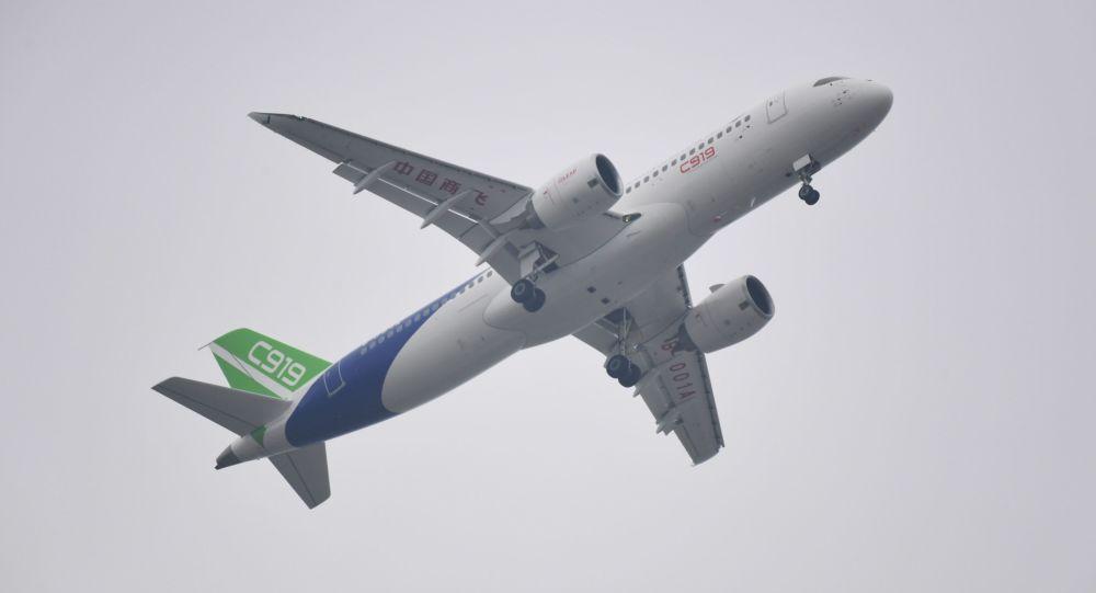 中國C919客機