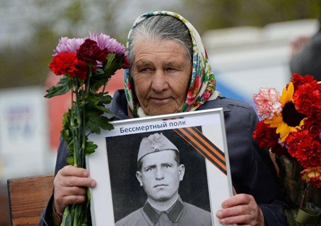 普京:勝利日永遠是俄羅斯神聖的日子