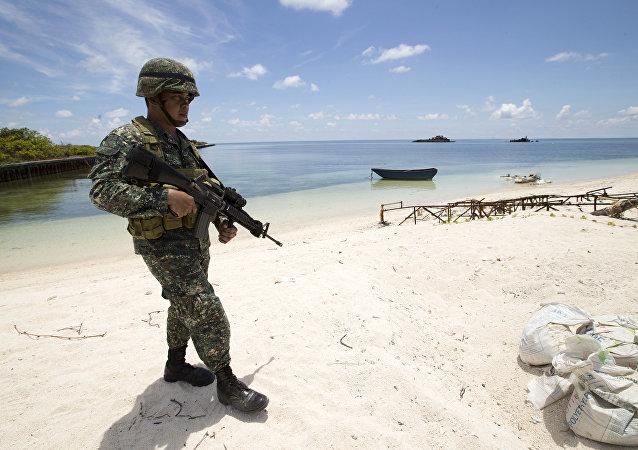 菲律賓向南海爭議島嶼派遣部隊