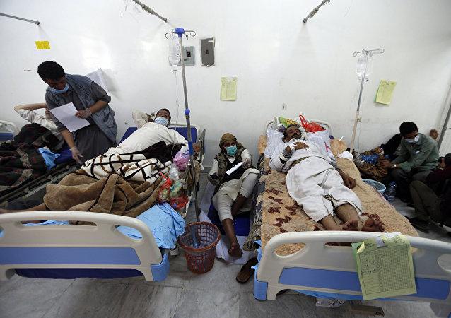 也門霍亂疫情