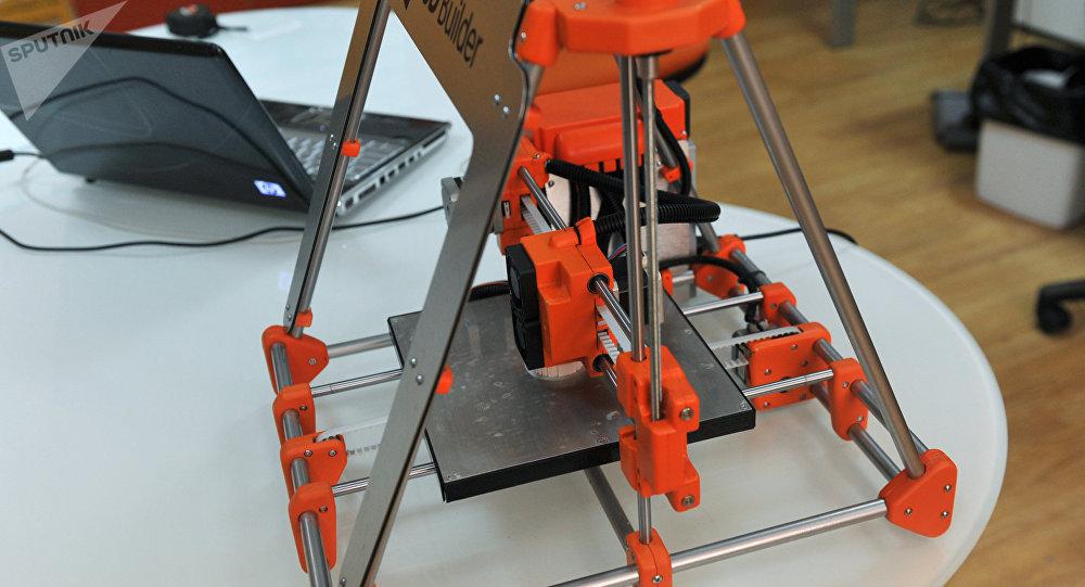 俄科學家研發出獨特的3D打印技術