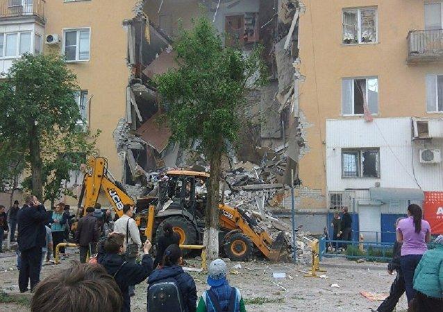 俄伏爾加格勒燃氣爆炸致11傷