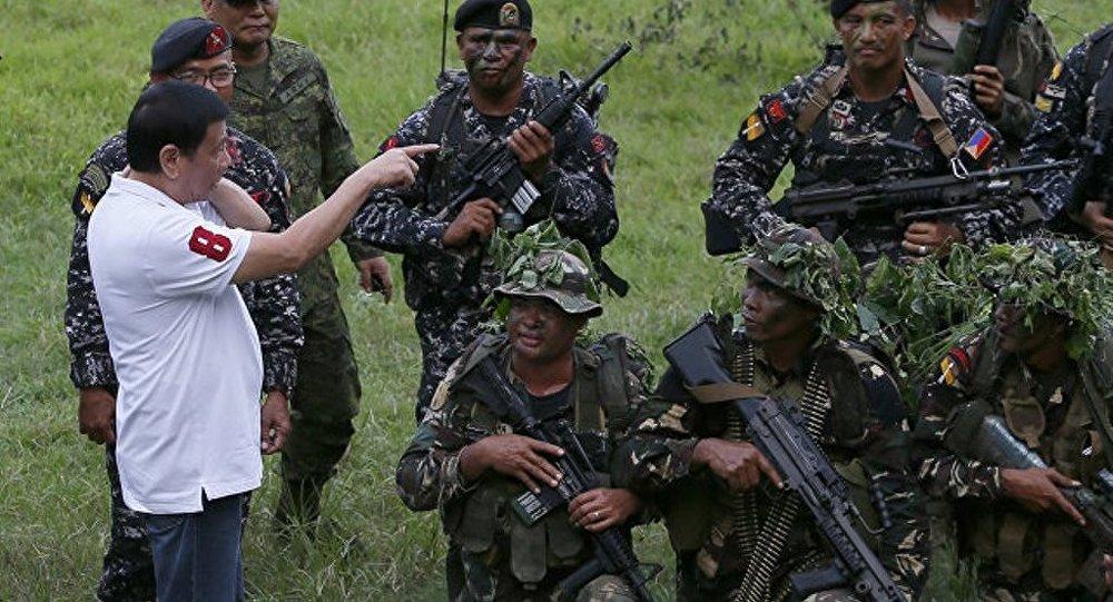 菲律賓總統拒絕同該國南部的武裝分子進行談判