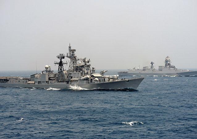 印度海軍稱有關其參加俄伊軍演的消息不實