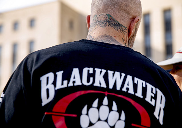 A former member of Blackwater security guards