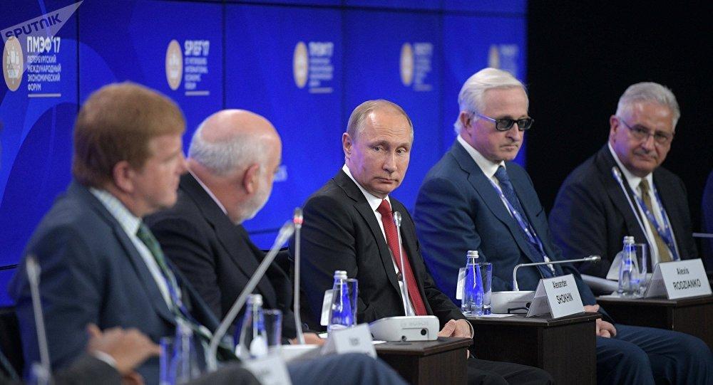普京希望美國商界協助俄美對話