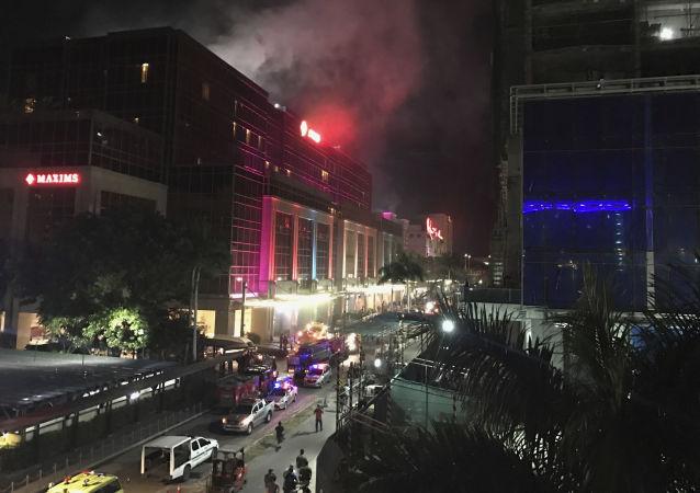 菲律賓警方已經確定了襲擊馬尼拉賭場的男子身份