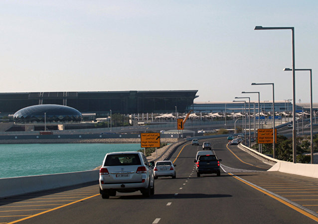 Доха, Катар, дорога к аэропорту