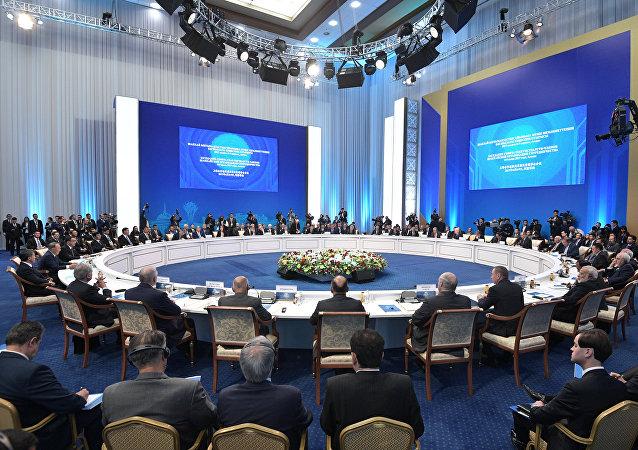 上合組織成員國歡迎「一帶一路」倡議的實施