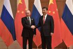 俄羅斯總統普京與中國國家主席習近平(資料圖片)
