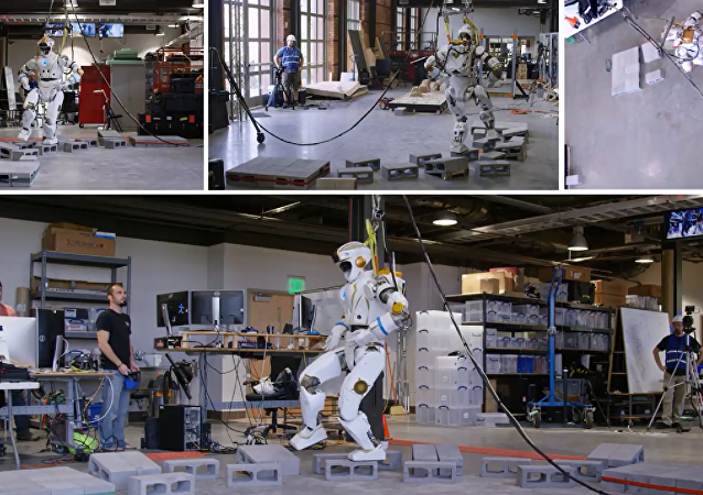 NASA展示了探索火星的人形機器人「女武神」