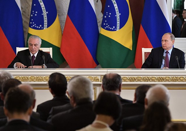 普京:俄羅斯與巴西將深化反恐協作
