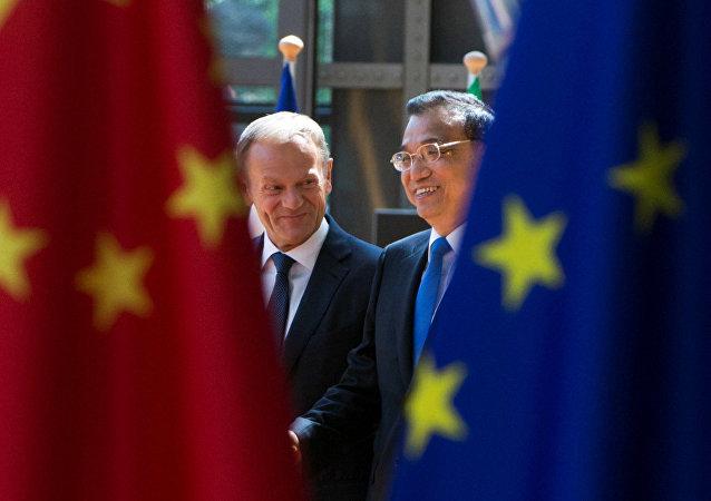 中歐簽署關於循環經濟合作的諒解備忘錄