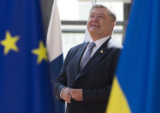 烏克蘭總統波羅申科支持率降至就職以來最低