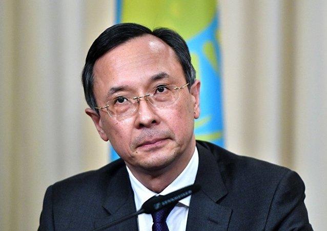 哈薩克斯坦外交部長阿布德拉赫曼諾夫