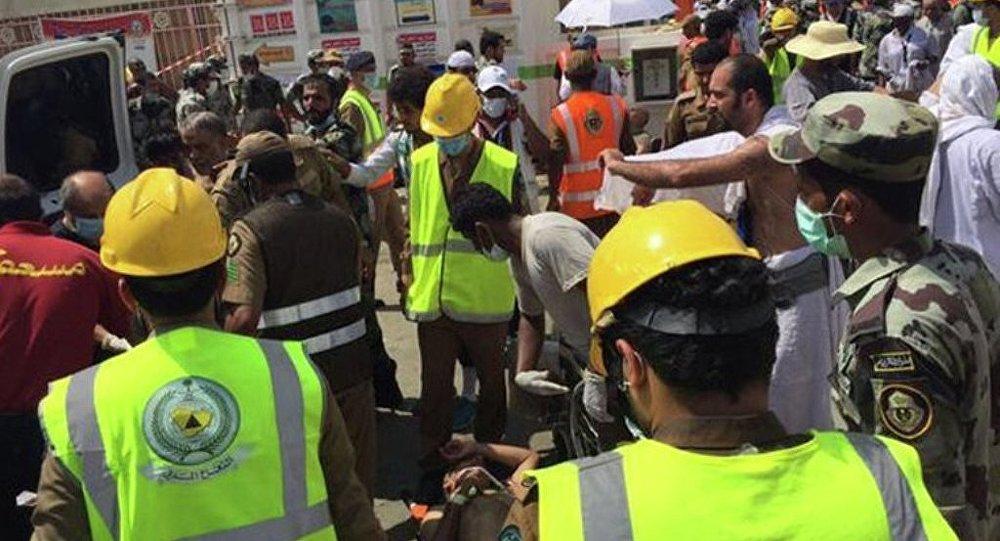 沙特阿拉伯衛生部確認,麥加附近踩踏事故是朝覲者導致
