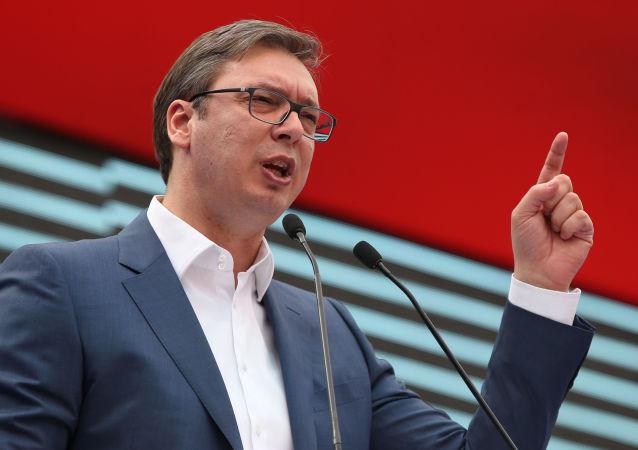 塞爾維亞總統亞歷山大•武契奇