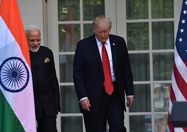 專家:特朗普與莫迪的會晤不會拉近美印兩國距離