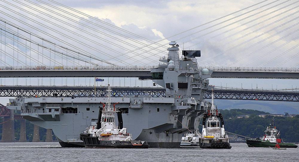 媒體:英國航母將前往太平洋向中國「秀肌肉」