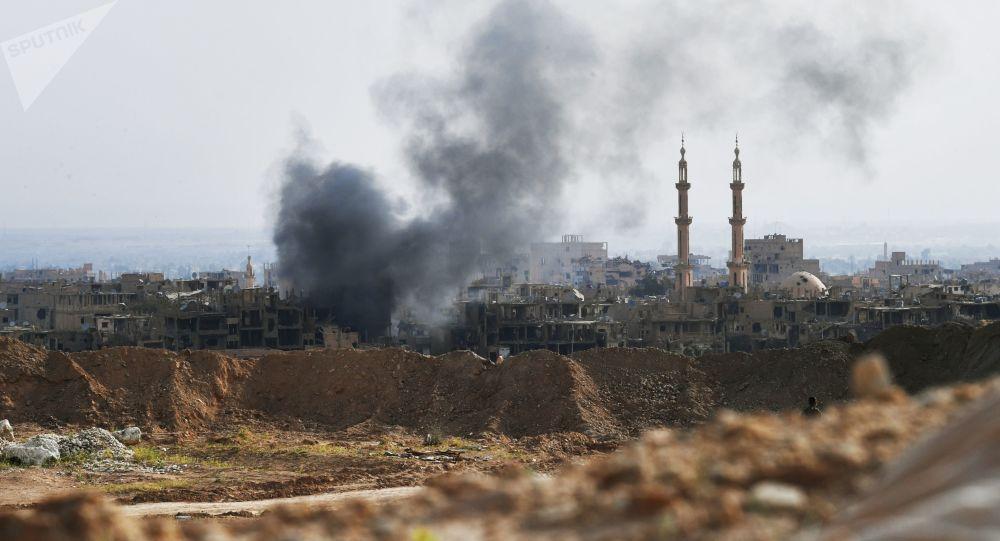 國際聯軍空襲敘利亞拉卡市 致一家8人死亡