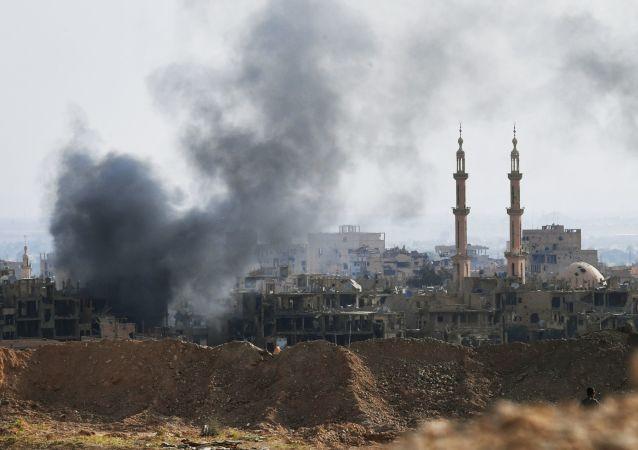 媒體:20人在敘利亞代爾祖爾遭受到的聯盟襲擊中死亡
