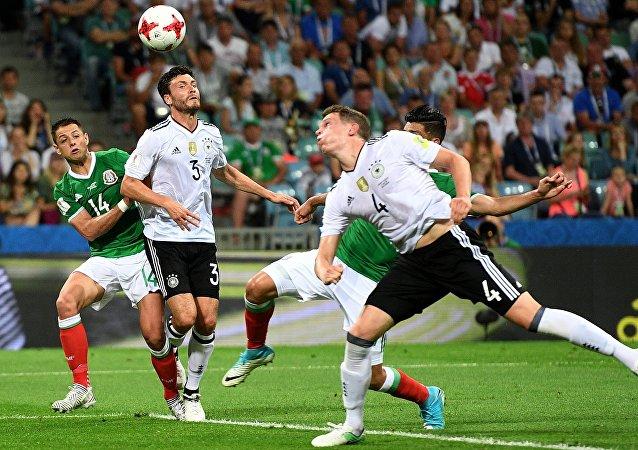 聯合會杯半決賽:德國4-1大勝墨西哥