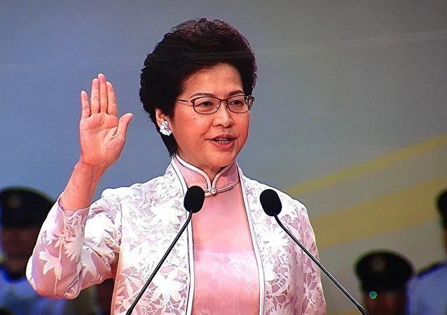 香港行政長官:香港回歸後仍然是世界公認、最自由的經濟體之一
