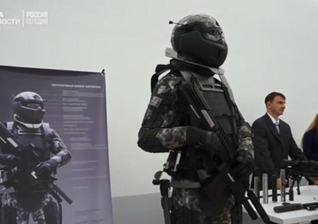 「未來戰士」裝備亮相莫斯科展會