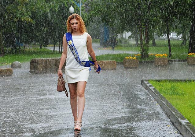 氣象員:莫斯科今年不會迎來盛夏