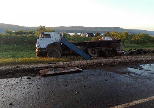 俄韃靼斯坦內務部:車禍肇事司機已被拘留
