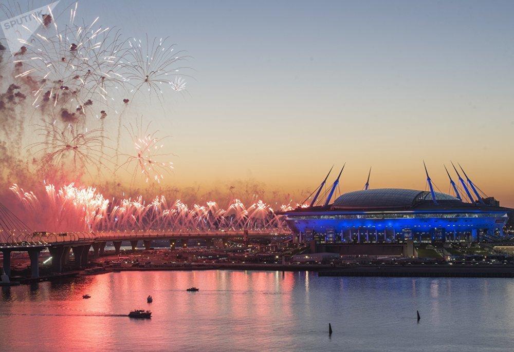 2017年俄羅斯聯合會杯盛大閉幕