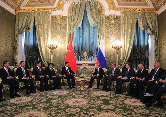 俄總統:俄中經濟合作問題是關注重點