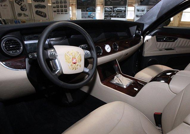 俄羅斯新款商務轎車受普京好評