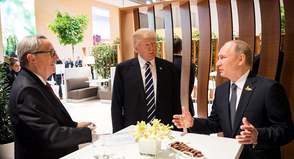 特朗普:同普京會面未討論制裁問題