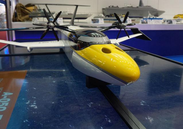俄「海鷗」地效飛行器