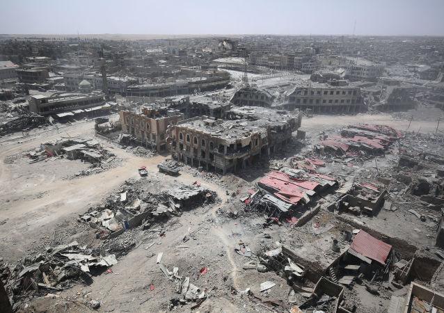 美軍指揮官:將「伊斯蘭國」武裝分子從摩蘇爾清除還需數周