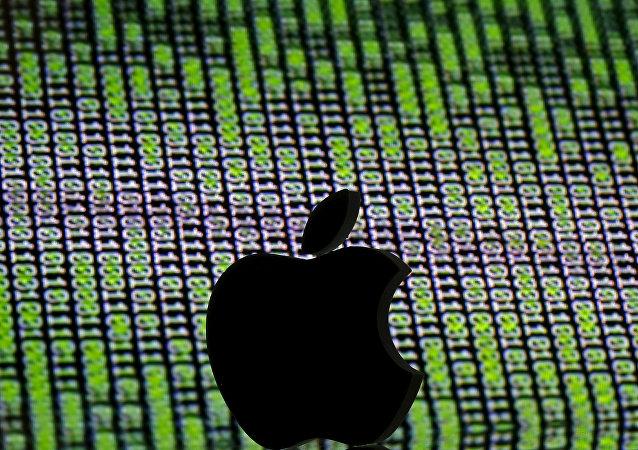 3D蘋果公司標誌